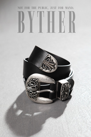 ByTher Cross Leather Belt