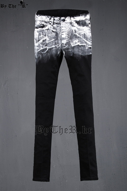 ByTheR White Painted Jean