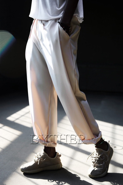 Cool Banding Wide Slacks