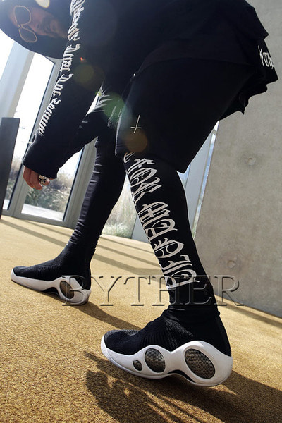 ByTheR Lettering Printing Leggings