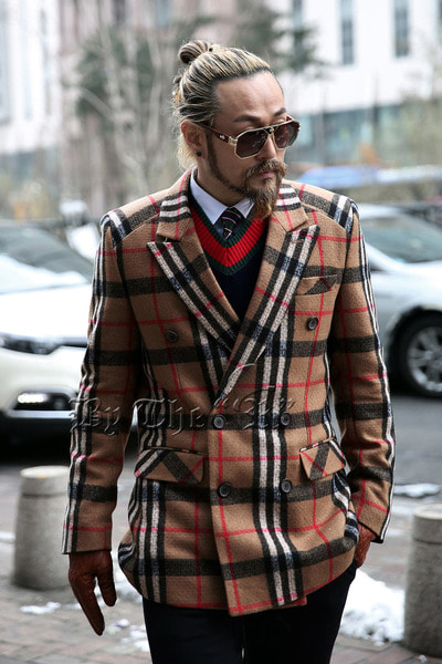 Classic Check Double Jacket