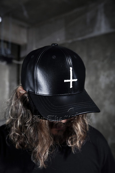 ByTheR X ProjectR Cross Leather Cap