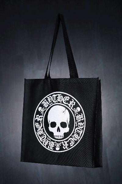 ByTheR Logo Slogan Shopping Bag