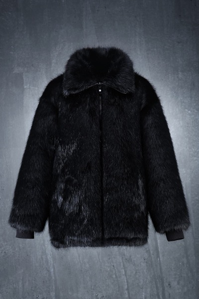 ByTheR Reversible Luxury Fur Jacket
