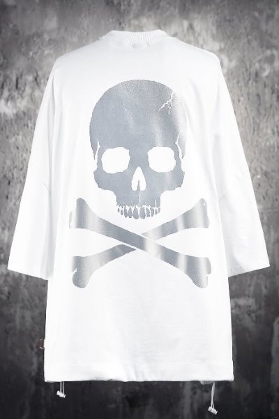 Skull Logo Scotch Reflective Short Sleeve T-shirt