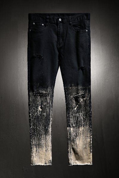 ByTheR Custom Under Bleach Hem Cutting Knife Jean