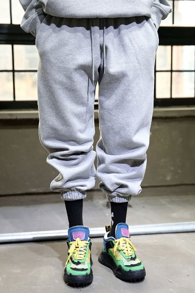 Loose Fit Cotton Training Jogger Pants