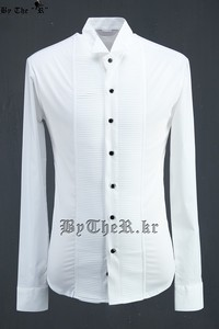 ByTheR Front Pin-tuck Shirts