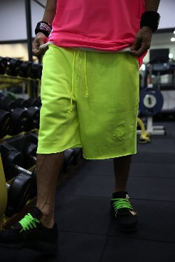 ByTheR Neon Color Loose_fit Shorts.